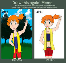 Draw this again meme - Misty by RevolutionHellCowboy on DeviantArt via Relatably.com