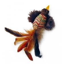 Купить <b>Игрушка</b> для кошек <b>GiGwi Cat Toys</b> Птичка с перьями ...