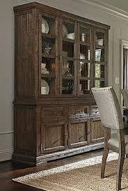 brown strumfeld dining room table