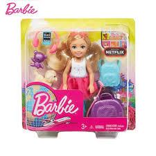 <b>Original Brand Barbie</b> Young Dreamers Dolls Accessories Travel ...