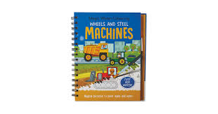 Machines <b>Magic Water</b> Colouring <b>Book</b> - ALDI UK