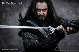 old fashioned charm period drama actor richard armitage thorin oakenshield in the hobbit filming