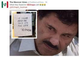 How Social Media Inspired New Corridos About El Chapo's Escape ... via Relatably.com