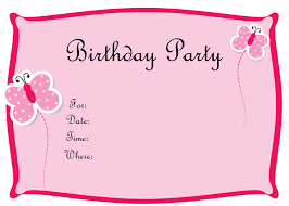 Birthday Invitation Templates : Free Birthday Party Invitation ... Kids Birthday Invitation Templates