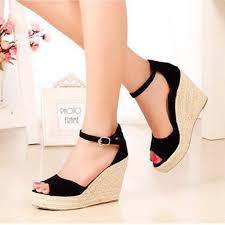 Fashion Bohemian <b>Summer Peep</b>-<b>Toe Women's</b> Platform Shoes