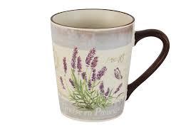Купить <b>Кружка</b> Лаванда <b>Anna Lafarg LF</b> Ceramics 55278 в ...