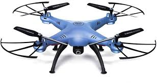 <b>Квадрокоптер SYMA X5HW</b> с камерой, синий [x5hw <b>blue</b>]