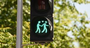 Image result for when was the first traffic light for pedestrians used
