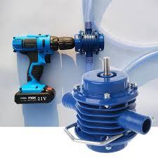 2019New <b>Heavy Duty Self Priming Hand</b> Electric Drill Water Pump ...
