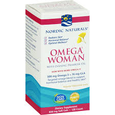 Nordic Naturals <b>Omega Woman, with Evening</b> Primrose Oil, 830 mg ...