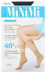 Капроновые <b>носки</b> MiNiMi Stella <b>40 Den</b>, 2 пары — купить по ...