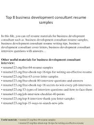 topbusinessdevelopmentconsultantresumesamples conversion gate thumbnail jpg cb