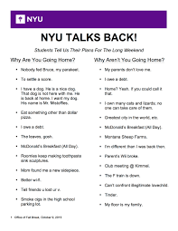 nyu hayden dining nyu talks back students share why theyre choosing to go home or not th