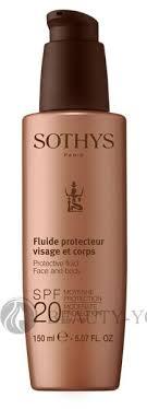 Косметика <b>Sothys</b> (Сотис) <b>Protective Fluid</b> Face And Body SPF20 ...