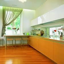 designer kitchen curtains yellow