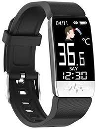 Smart Watch, <b>T1S ECG</b> Body Temperature Heart Rate Monitor Call ...