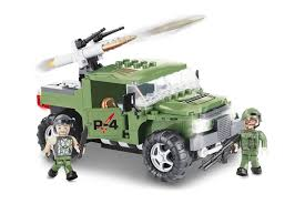 <b>Конструктор COBI</b> Военный джип P-4 Armoured Car COBI-2336