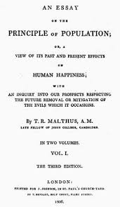 an essay on the principle of population as it affects the future    title page of an edition of thomas malthus    s an essay on the principle of population