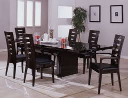Of Dining Room Tables Black Glass Kitchen Table Glass Top Dining Room Tables