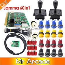 <b>Arcade parts Bundles</b> kit With American <b>Joystick</b> microswitch button ...