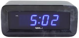 электронные <b>часы настольные BVItech BV</b>-<b>18</b> blue по самой ...