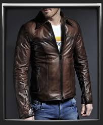<b>Mens vintage</b> leather <b>jacket</b> with <b>classic style</b> | <b>Jackets</b>, <b>Vintage</b> ...