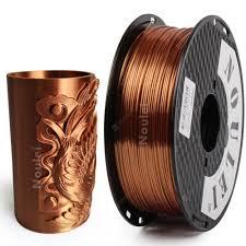 Noulei 3D Printer Filament Silk 1.75 1KG PLA Silky Rich Luster ...