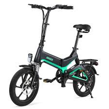 <b>Dohiker 16 Inch Electric</b> Bike Removable 7.5AH Lithium Ion Battery ...