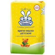 Крем-<b>мыло детское Ушастый нянь</b> гипоаллергенный алоэ вера и ...