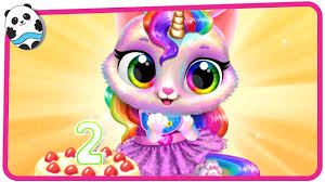 Twinkle - <b>Unicorn Cat</b> Princess - Fun Pet Care & Dress Up Game for ...