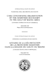 CASE CONCERNING DELIMITATION OF THE MARITIME ...