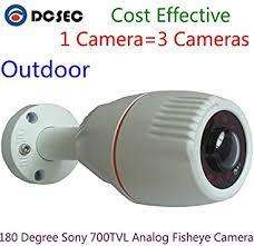 180 Degree Wide Angle Outdoor Fish Eye Mini Bullet ... - Amazon.com