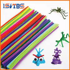 <b>100pcs Colorful Chenille DIY</b> Handmade Sticks Art Decoration