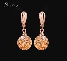 <b>Crazy Feng</b> 2018 <b>Trendy</b> Elegant Dangel Long Earrings Gold color ...