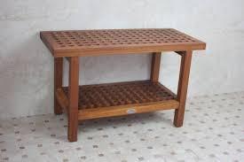 shower pan teak seat bathroom wooden bench for shower wood bath bench teak shower shelf