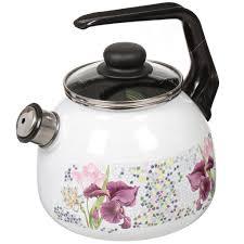 <b>Чайник эмалированный</b> СтальЭмаль 4с209я Мозаика со ...