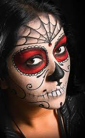 day of the dead makeup what do you think of day of the dead makeup please tweet your
