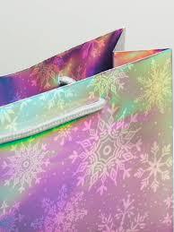 """<b>Пакет подарочный</b> голография """"Снежинки"""" Дарите счастье ..."""