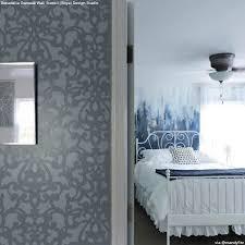 bedroom creative painting techniques ideas  diy wall stencil ideas for dreamy feminine romantic bedroom decor roy