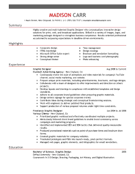 sample resume graphic design examples of creative professional gallery of example of graphic design resume