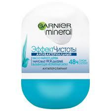 Антиперспирант Garnier Mineral Эффект чистоты <b>роликовый</b> 50 ...