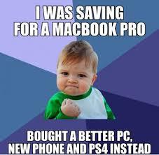 FunniestMemes.com - Funniest Memes - [I Was Saving For A Macbook ... via Relatably.com