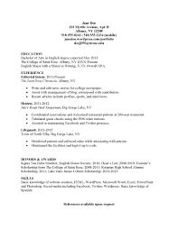 resume examples for internships internship college resume sample resume examples for internships internship resume template template internship resume