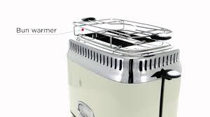 <b>21682-56 Retro</b> Cream 2S Toaster - YouTube