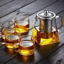 Термостойкий стеклянный <b>чайник</b> из нержавеющей стали ...