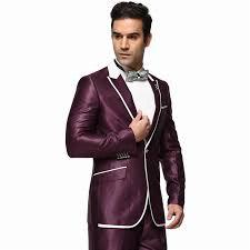 jacket pant wedding suits for men business casual fashion purple jacket pant wedding suits for men business casual fashion purple color men blazer suit a0302