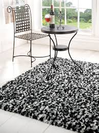 soft comfortable modern black white shaggy rugs black white rug home