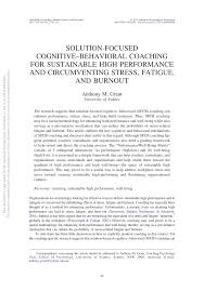 Solution-focused cognitive-behavioral coaching for sustainable <b>high</b> ...