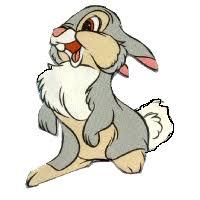 Znalezione obrazy dla zapytania gify króliki