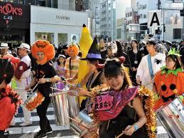 Omotesando <b>Halloween Pumpkin</b> Parade, Late Oct 2021, 2021 ...